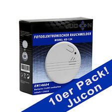 Rauchmelder Jucon 10er-Pack, Brandmelder