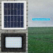 54LED Solar Powered Flood Light Waterproof Dusk-to-Dawn Sensor Path Street Lamp