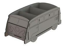 Y71 VW Camper Van estilo Caramelo Dulce Carro Soporte Boda Fiesta Mdf Noria