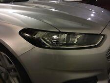 2013-2016 Ford Fusion Headlight Turn Signal Light Precut Smoke Tint Overlays
