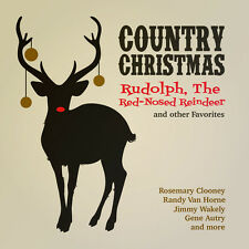Country Christmas: Rudolph Red-Nosed Reindeer / Va (2015, CD NIEUW)