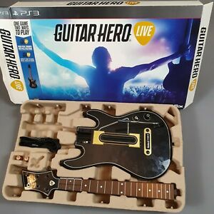Guitar Hero Live Guitar Only No Game No Dongle Xbox One PS4 Xbox 360 PS3