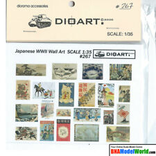 DioArt 1/35 WWII Japanese Wall Art (full colour, 2 bond sheets)