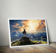 The Legend of Zelda Breath of the Wild poster 24 x 36 inches FAST USA SHIPPING
