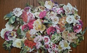 Anna Griffin Favorite Flowers 3 Embellishments Card Making 30 pc