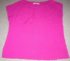 LADIES OLD NAVY ROSE COLOR TOP SHIRT PULL OVER S/S SIZE S SMALL