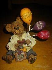 Boyds Bears Figurines Good For You Bear WayTo Go