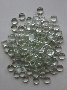 150x TRANSPARENTE / KLARE GLASNUGGETS Glassteine Mosaiksteine Deko ca. 18-22 mm