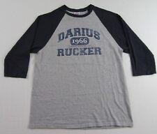 DARIUS RUCKER Country Singer World Tour Souvenir LS Raglan T Shirt Size M