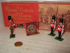 Britains 5991 Scots Guards Colour Party with State Colour Set in Fitted Box.