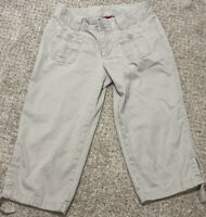 The North Face Women's Capri Pants Size 4 Tan Khaki Hiking Cargo Casual