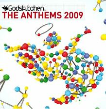GODSKITCHEN - THE ANTHEMS 2009 various (3X CD compilation, mixed) house, trance