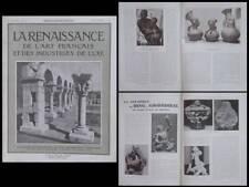 LA RENAISSANCE n°10 1926 CROISIERE NOIRE, JACOVLEFF, MANGBETU, BING GRONDHAL