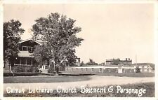 Colman South Dakota~Lutheran Church Basement & Parsonage~1930s Real Photo~RPPC