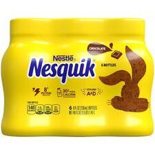 Nestle Nesquik Chocolate Milk 6 Pack