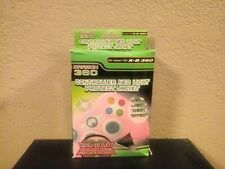Neon Green Silicone Protective Skin Cover For Microsoft Xbox 360 Controllers