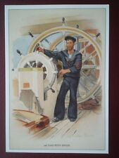 POSTCARD SOCIAL HISTORY SAILORS THRO THE AGES (14) 2ND CLASS PETTY OFFICER - C R