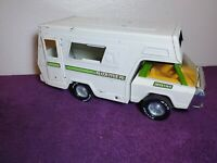Vintage NYLINT Roamer Metal RV #480 Made In USA Vintage Pressed Steel RV (RARE)