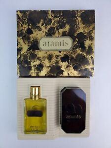 Vintage Aramis After Shave 2 fl. oz. & Bar Soap Gift set New old stock w/box