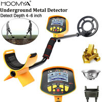Underground Metal Detector Gold Coin Digger Hunter Finder Deep Sensitive Search