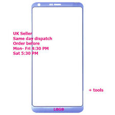 LG G6 H870DS H870 H873 LS993 Front Outer Glass Touch Screen marine Blue