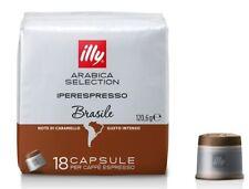 108 capsule ILLY iperespresso BRASILE caffè espresso classico arabica intenso