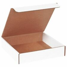 White Corrugated Mailers Many Sizes 50 Shipping Packing Boxes Mailers