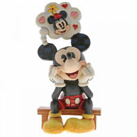 NEW Thinking of You (Mickey Mouse Figurine) - Disney Traditions Collection