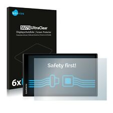 6x Displayschutzfolie Garmin DriveSmart 61 LMT-S Schutzfolie Folie Displayfolie
