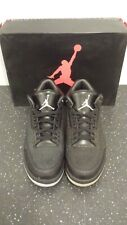 New Men's AIR Jordan Retro 3 Flip - 315767 001 Black - Sz 10.5 Disoloring Yellow
