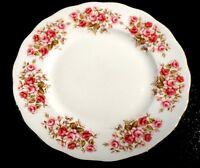 Beautiful Queen Anne Rose Garden Lunch Plate