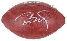 Patriots Tom Brady Signed SB XLIX Logo The Duke Nfl Football Fanatics #FA003414
