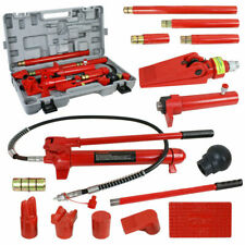 Power Hydraulic Jack Body Frame Repair Kit Auto Shop Tool Lift Ram10 Ton Porta