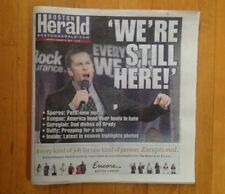 "Boston Herald Newspaper New England Patriots Super Bowl LIII ""WERE STILL HERE"""