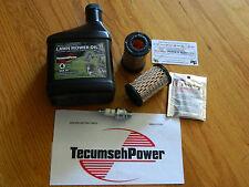 GENUINE Tecumseh engine air filter 35066, Oil, Spark Plug maintenance kit /Sears
