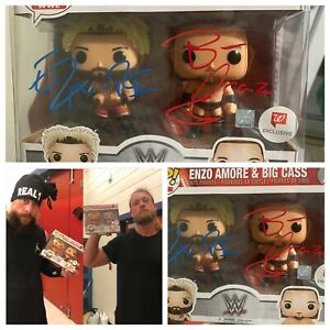 AUTOGRAPHED ENZO AN BIG CASS FUNKO POP