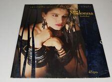 "Madonna - Borderline / Lucky Star (1984) Vinyl 12"" maxi single • Self titled"