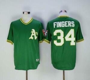 Rollie Fingers, american baseball famous player jersey, regular season quality