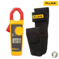 Fluke 323 True RMS Digital Clamp Meter and H3 Holster with Voltstick