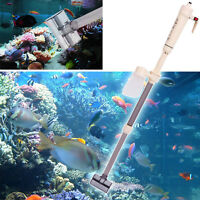 Aquarium Gravel Vacuum Siphon Cleaner Fish Tank Water Change Battery Powered de