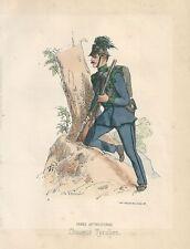 1860 CHASSEUR TYROLIEN Kaiserjäger Tirol esercito austriaco cacciatori imperiali