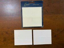 59 PLACE CARDS Crane & Co, other Ecru/White Place Cards