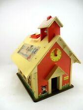 Vintage Fisher Price Play Family School Playset