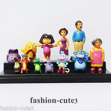 Set of 12 pcs Dora the Explorer New PVC Gift action figures Cake Toppers Toy