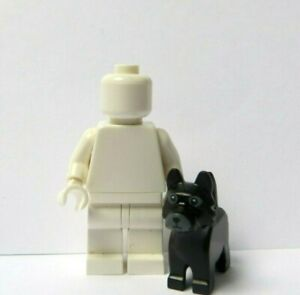 Lego 1 X Black Scottie Dog  Minifigure Not Included  Pet Scottish Terrier Puppy