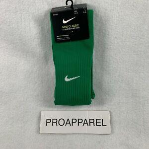 NIKE Classic II Cushioned OTC Soccer Socks Pick Size Pine Green SX5728-302