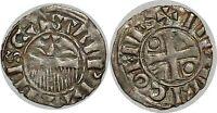 CHAMPAGNE - COMTÉ DE PROVINS - HENRI II Denier 1180-1197 PA.5972