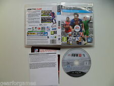 SONY PS3 PLAYSTATION 3 PAL GAME FIFA 13 TESTED
