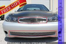 GTG 1998 - 2000 Ford Contour SVT 3PC Polished Combo Billet Grille Grill Kit