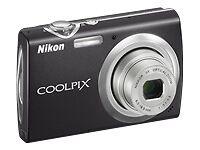 Nikon COOLPIX S230 10.0MP Digital Camera - Jet black USED